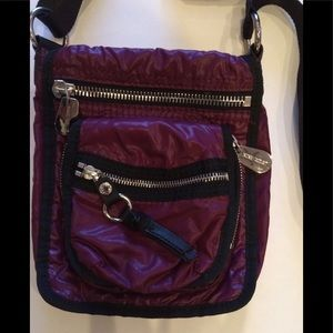 Nine West crossbody bag. Merlot Grape color EUC
